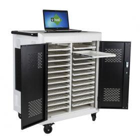 Carrello / Stazione di ricarica per laptop Safecart 24 PRO